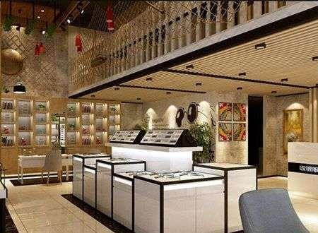 北京正规的眼镜中心装饰电话,蛋糕店柜台图片