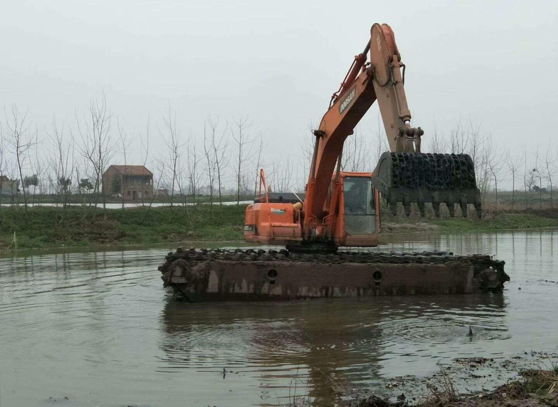 宁波靠谱的水陆挖掘机租赁电话,水陆挖机出租联系方式 注意
