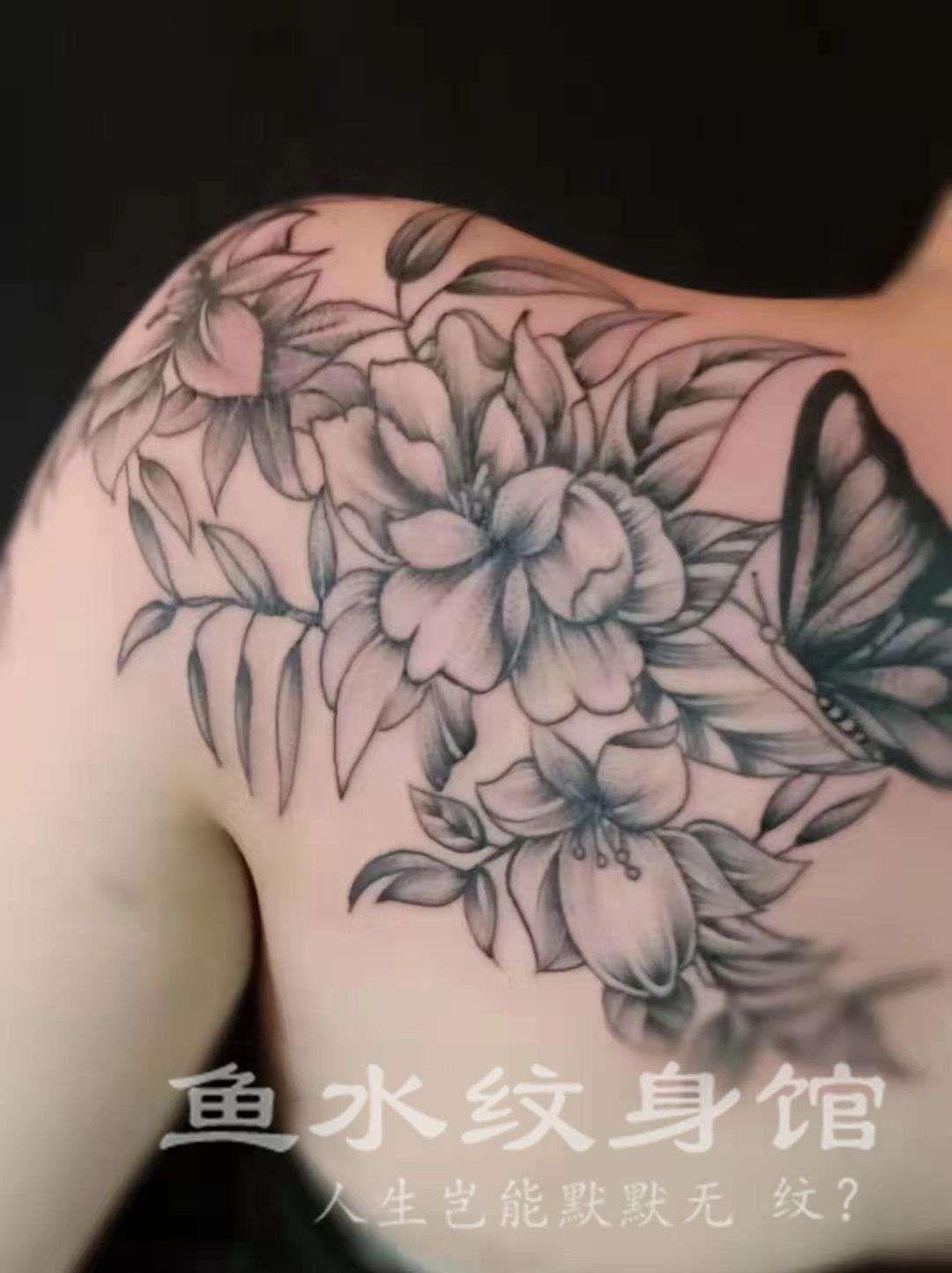海口秀英正规的水墨纹身哪家比较好,邹菊纹身哪家专业