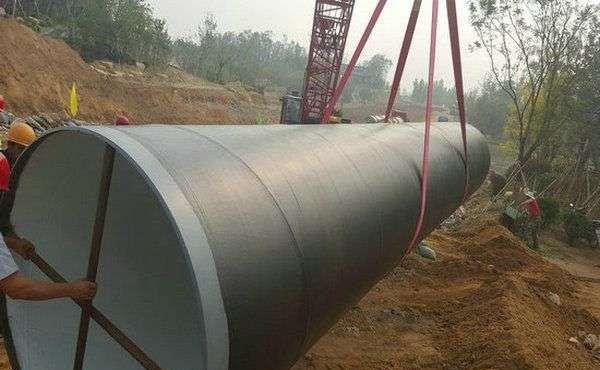 上海规模大的饮水管道用防腐钢管定制,六油两布防腐螺旋钢管