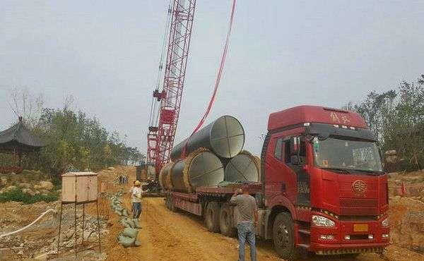 青岛平价的污水排放防腐钢管出厂拿货价,六油两布防腐螺旋钢管销售价格-了解咨询