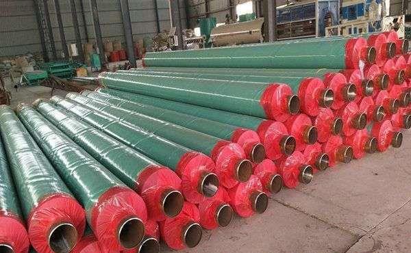 湖州质量好的聚氨酯发泡保温钢管报价,高温预制直埋保温管厂家
