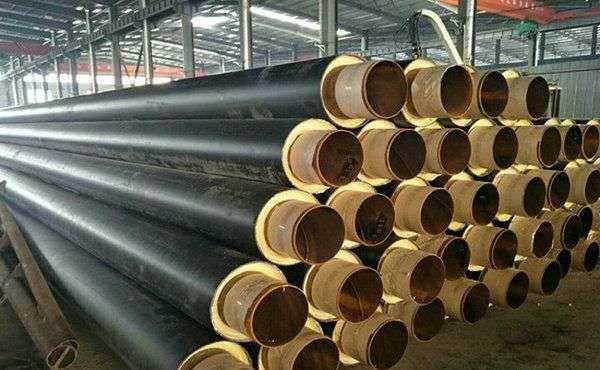 衢州耐用的聚氨酯发泡保温钢管,建筑业用聚氨酯硬泡体保温管供应商