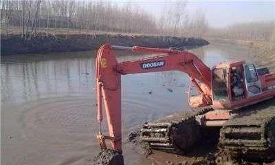 昆明池塘开发水陆挖机出租价格,湿地水陆挖掘机 请看