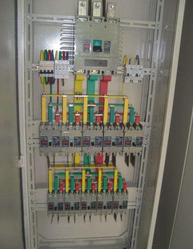 xl一21动力柜接线图